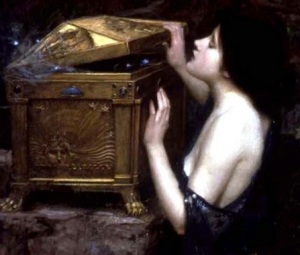 Pandora's Box, John William Waterhouse